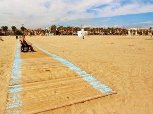 Valencia Beach Boardwalk me
